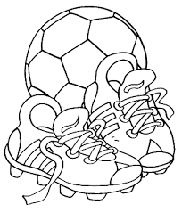 Coloring Pages 3 Soccer Coloring Page