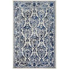 Off White Area Rugs by Artistic Weavers Organic Evelyn Hand Tufted Blue Area Rug