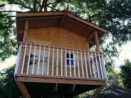 How To Build A Shed Out Of Scrap Wood by Building A Treehouse 8 Steps With Pictures