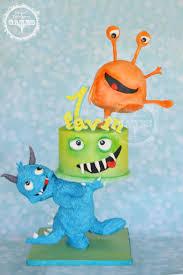 Cute Halloween Cakes 251 Best Monster Cakes Images On Pinterest Monster Cakes Alien