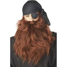 gimli halloween costume amazon com pirate beard and moustache red clothing
