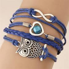 infinity charm leather bracelet images Infinity friendship multilayer charm leather bracelets urbanized jpg