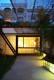 House Patio by Gallery Of Patio House In Gracia Carles Enrich 5