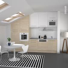 meuble haut de cuisine blanc cuisine en bois clair structuré stilo noyer blanchi interiors