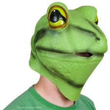 Frog Halloween Costumes Latex Frog Mask Halloween Costumes Archie Mcphee Polyvore