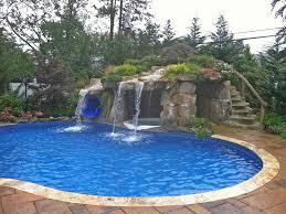 waterslides and waterfalls slideshow luxury pools