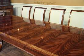 High End Extra Large  Long Mahogany Dining Table Seats - Mahogany dining room sets