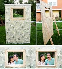 diy photo booth frame diy photobooth wall ruffled