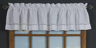 amazon com d kwitman and son lattice window tier valance white