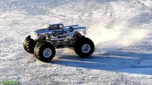 monster truck crash videos youtube monster truck on ice off road truck crashing ice youtube