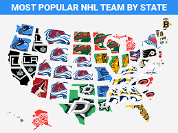 popular map the most popular nhl team in every state business insider