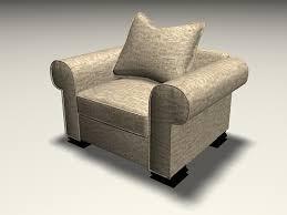 3d Sofa Fabric Sofa Chair 3d Model 3ds Max Autocad Files Free Download