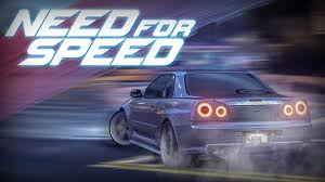 nissan skyline 2015 blue skyline gt r r34 drift build need for speed 2015 pc 60fps