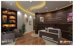 dubai massage center interior design proposal for body and mind