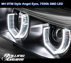 bmw headlights at night amazon com black headlight headlamp projector for bmw e90 e91 3