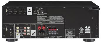 pioneer amplifier home theater amazon com pioneer vsx 523 5 1 channel a v receiver black home