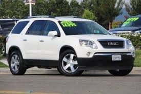 2012 Gmc Acadia Interior Used 2012 Gmc Acadia For Sale Pricing U0026 Features Edmunds
