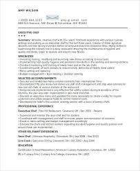 chef resume examples top 8 professional chef resume samples chef