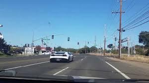 toyota in california toyota camry chasing a lamborghini in california youtube