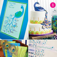 peacock baby shower party of 5 peacock shower ivory lace birthday ladybug