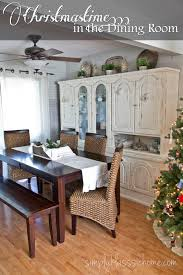 Rustic Dining Room Rustic Glam Christmas Dining Room Yellow Bliss Road