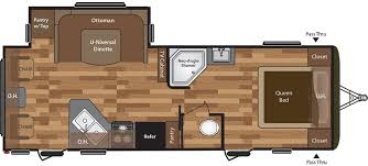 Small Rv Floor Plans Hideout