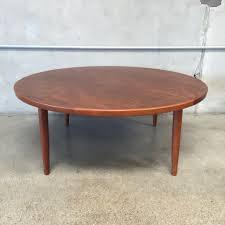 Mid Century Modern Round Coffee Table Teak Round Coffee Table Amazing Home Design