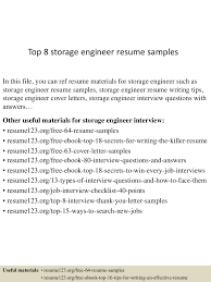 Killer Resume Examples by Top8storageengineerresumesamples 150512072757 Lva1 App6891 Thumbnail 4 Jpg Cb U003d1431415723