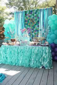 mermaid birthday party mermaids ariel birthday party ideas pirate birthday