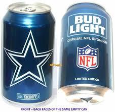 Corona Light Cans Dallas Cowboys Beer Ebay