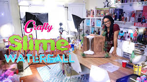 How To Make Doll Kitchen Crafty Time Lapse How To Make Doll Slime Waterfall Behind