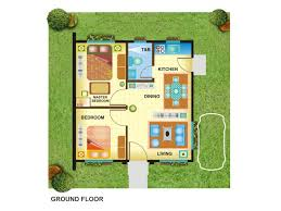 floor plan of a bungalow house extraordinary 2 bedroom bungalow house plans philippines gallery