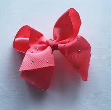 large ribbon large ribbon bow jojo inspired 6 inch rhinestone bows princess