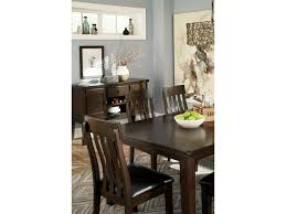 signature design by haddigan rectangular dining room table