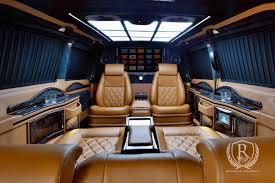 luxury mercedes sprinter rovelver vip auto design gmbh individual vehicle business van
