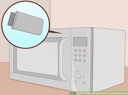 ge spacemaker xl1800 light bulb how to change the fuse in a ge microwave with pictures wikihow
