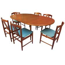 folke ohlsson for dux teak table and chairs set teak table and teak