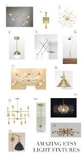 amazing etsy lighting elements of style blog