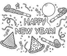 happy new year preschool coloring pages new years coloring pages new years eve coloring sheets party