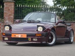 porsche 930 turbo flatnose 1983 porsche 911 cabriolet 49 995