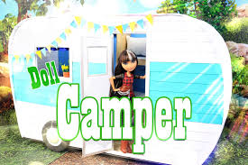 diy how to make doll camper extreme handmade crafts youtube
