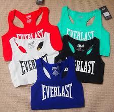 everlast women u0027s y back crop sports bra top xs s m l xl 8 10 12 14
