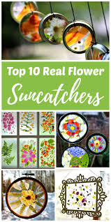 top 10 real flower suncatcher crafts rhythms of play