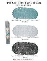carnation home fashions inc bath tub mats natural bath tub mats