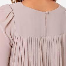 pleated blouse blouse european style chiffon blouses office shirts