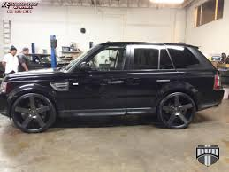 land rover black land rover range rover sport dub baller s116 wheels black