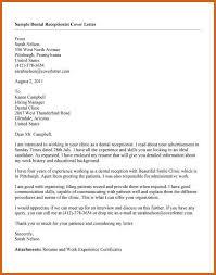 cover letter receptionist lovinglyy us