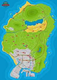 Napoli Map by Spaceship Parts Grand Theft Auto V Game Guide Gamepressure Com