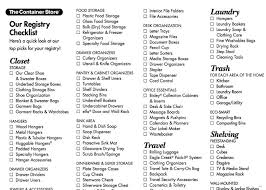 bridal shower registry wedding registry checklist useful guide bridal shower list there