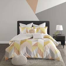 mercury row horta 7 piece cotton duvet cover set u0026 reviews wayfair